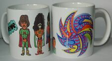 THE MOVE / ROY WOOD  : Set of 2 TOP QUALITY 11oz :1960's RETRO COLLECTORS MUGS