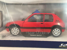 SOLIDO 1/18 PEUGEOT 205 1.9 GTI 1988 RED ART. 1801702