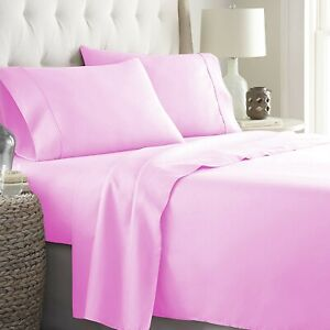 Egyptian Cotton Wonderful Pink Bedding Collection 1000 TC Select Item & Pattern