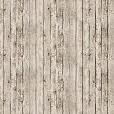 Antique White Wood Fence Fabric, Play Ball, Elizabeth's, Landscape (By 1/2 Yd)