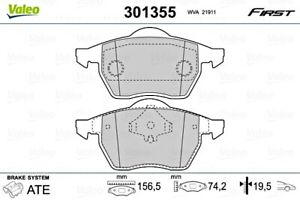 Front Disc Brake Pad Set VALEO Fits AUDI VW 100 A4 Avant Cabriolet 4D0698151A