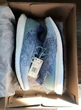 Adidas Men's Ultra Boost Uncaged Ash Grey, Blue & Red Size 12 NEW #B37693