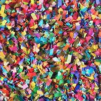 Vibrant Confetti Mix Biodegradable Colourful Multicoloured Party (25 Guests)