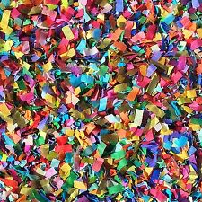 Vibrant Confetti Mix Biodegradable Colourful Multicoloured Party (25 Guests)