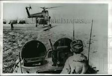 1969 Press Photo Russian and Chinese troops battle nearr Ussuri River