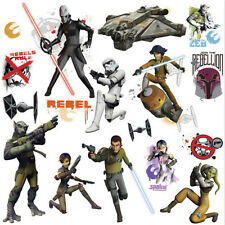 STAR WARS REBELS wall stickers 17 decals room decor GLOW IN DARK space ship