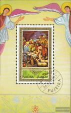 Fujeira Block75A (kompl.Ausg.) gestempelt 1971 Weihnachten