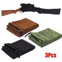 "Black+Green+Brown Rifle/Shotgun Sack 54"" Silicone Treated Gun Sock Sleeve Cover"