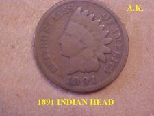 1891 Indian Head Cen