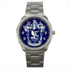 Harry Potter Ravenclaw Hogwarts School Quality Sport Metal Wrist Watch Gift D02