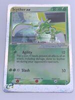 Pokemon💎Scyther Ex Holo💎2003 EX Ruby & Sapphire 102/109🌟Nintendo🌟Rare Card