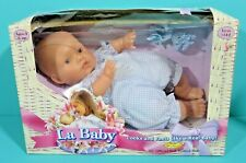"00004000 Dolls By Berenguer La Baby 11"" Doll Newborn Vinyl Soft Bodied Jc Toys 1998 Box"