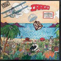 MEN AT WORK CARGO LP EPIC UK 1983 PRESS SUPERB NEAR MINT CONDITION PRO CLEAN