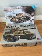 Tamiya 1/35 Tiger 1 and Dragon Flakpanzer IV lot