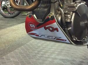 Montesa 4rt Sump Guard Decal (Red & White)