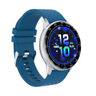 Multi-function free replacement screensaver sports smart watch,blue