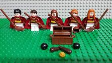 LEGO HARRY POTTER 4737 QUIDDITCH MATCH MINIFIGURES LOT Genuine Lego NEW!
