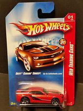 2008 Hot Wheels #077 Web Trading Cars 1/24 - Chevy Camaro Concept - M6979 1L