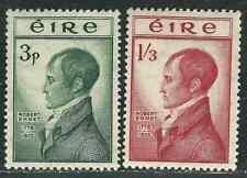 Ireland 149-50 SG 156-57 Robert Emmet MNH VF 1952 SCV $40.50