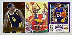 (3) Kobe Bryant Fleer Collector's Edge Gold Foil Contenders Card Lot LAKERS HOF