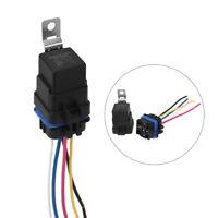 Automotive Car Auto 12V 5 pin Relay Socket Harness Plug Holder 40 amp Waterproof