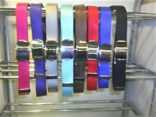 £2.99 each ladies or gents web  roller buckle  belts quick release  fits 30x42