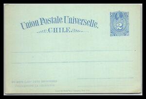 GP GOLDPATH: CHILE POSTAL CARD MINT _CV712_P14
