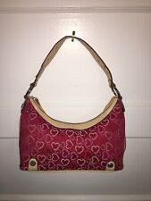 XOXO Red & Pink Hearts Small Handbag Clutch New With Defects Love Valentine