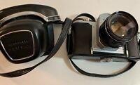 Vintage Honeywell Pentax H1a Asahi Japan 49mm In Fitted Case (u)