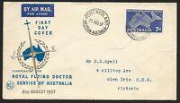 AFD508) Australia 1957 Royal Flying Doctor Service Of Australia