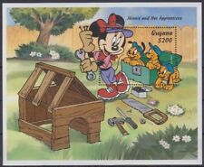 Guyana Disney Stamps - Minnie and Her Apprentices Souvenir sheet - MNH