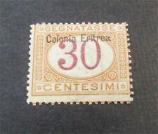 nystamps Italian Eritrea Stamp # J4 Mint OG H $30   F19x3014