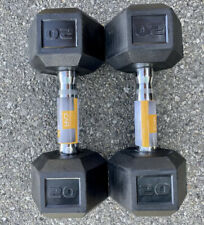 CAP SDR1020 Barbell Coated Hex Dumbbell - 20lbs