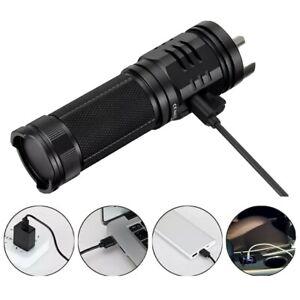 Sofirn SP 33 V3.0 Leistungsstarke Taschenlampe Max 3500 Lumen Helle usb c6.