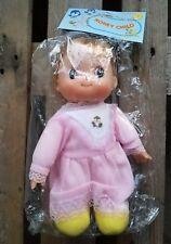 New Honey Child Plastsic Doll Dress Pink Lace Dress 70s 80s 90s Toy Big Eyes