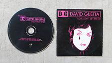 """CD AUDIO / DAVID GUETTA FEAT CHRIS WILLIS """"LOVE, DON'T LET ME GO"""" CDS 2T 2002"""