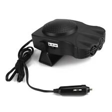 Portable Car Heater Auto Heating Cooling Fan 3-Outlet Defrosts Defogger 12V 150W