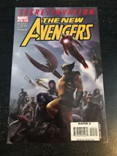 """The New Avengers#45 Incredible Condition 9.4(2008)""""Secret Invasion"""" Cheung Art!!"""