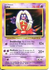 Pokemon Base Set Uncommon Card #31/102 Jynx