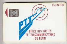 AFRIQUE  TELECARTE / PHONECARD ..  BENIN SC5AN S/T AFNOR TGE.C3A000569 CHIP/PUCE