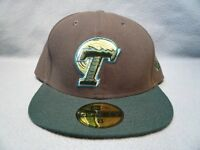 New Era 59fifty Tulane Green Wave 2-tone Sz 7 3/4 or 8 BRAND NEW cap hat Fitted