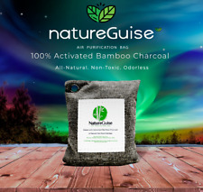 Activated Charcoal Air Purifying Bag Bamboo / Air Freshener - NatureGuise