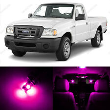 13 x Pink LED Interior Light Package For 1998 - 2011 Ford Ranger + PRY TOOL