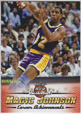 2016-17 LEAF BEST OF BASKETBALL CAREER ACHIEVEMENTS: MAGIC JOHNSON #MJ1 LAKERS