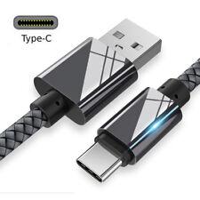 USB Tipo C Sync Cargador Cable de datos de carga rápida para Samsung Galaxy Note 9 S9+