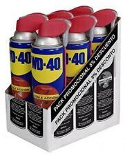 WD-40 Spray Lubrificante 6 x 500ml - Blu (39134/6U)