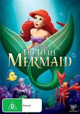 The Little Mermaid DVD Disney New unSealed Australia Region 4