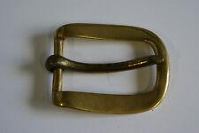 Pesado latón sólido hebilla de cinturón para dar un 1 3/4 pulgadas de la correa-Nueva