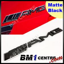 AMG MATTE BLACK SERIES REAR EMBLEM BADGE BENZ A C E S CL SL ML CLK CLS SLK CLASS