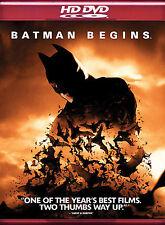 Batman Begins Hd Dvd Used Good Christopher Nolan